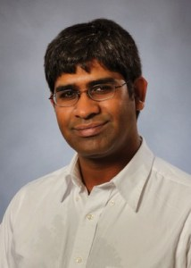 Suvrath Mahadevan, assistant professor of Astronomy and Astrophysics at Penn State, and principal investigator for a new-generation high precision spectrometer. (Penn State)