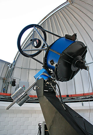 TRAPPIST (TRAnsiting Planets and PlanetesImals Small Telescope) is a 60 cm telescope at La Silla devoted to the study of planetary systems and it follows two approaches: the detection and characterisation of exoplanets around other stars and the study of comets orbiting around the Sun. The robotic telescope is operated from a control room in Liège, Belgium. The project is led by the Department of Astrophysics, Geophysics and Oceanography of the University of Liège, in close collaboration with the Geneva Observatory (Switzerland). TRAPPIST is mostly funded by the Belgian Fund for Scientific Research with the participation of the Swiss National Science Foundation. The name TRAPPIST was given to the telescope to underline the Belgian origin of the project. Trappist beers are famous all around the world and most of them are Belgian.